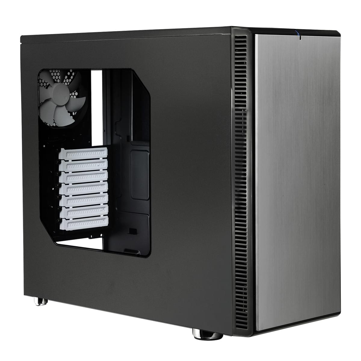 Fractal Design Define R4 Titanium Grey Window - Boîtier PC Acier - Sans Alim - 0