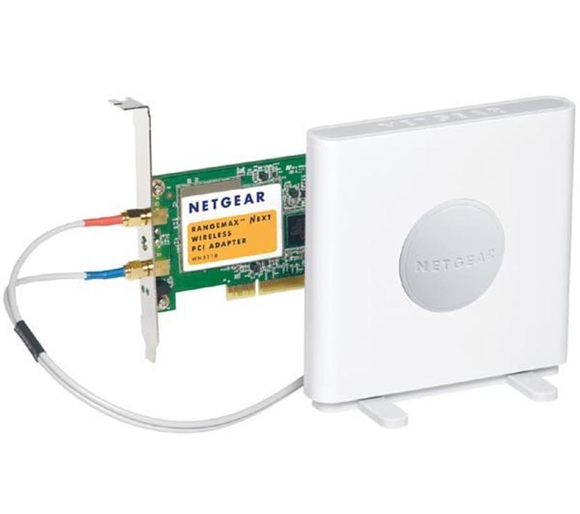 Netgear PCI WiFi RangeMax 802.11n WN311B (300MB) (WN311B-100PES) - Achat / Vente Carte Réseau sur Cybertek.fr - 0
