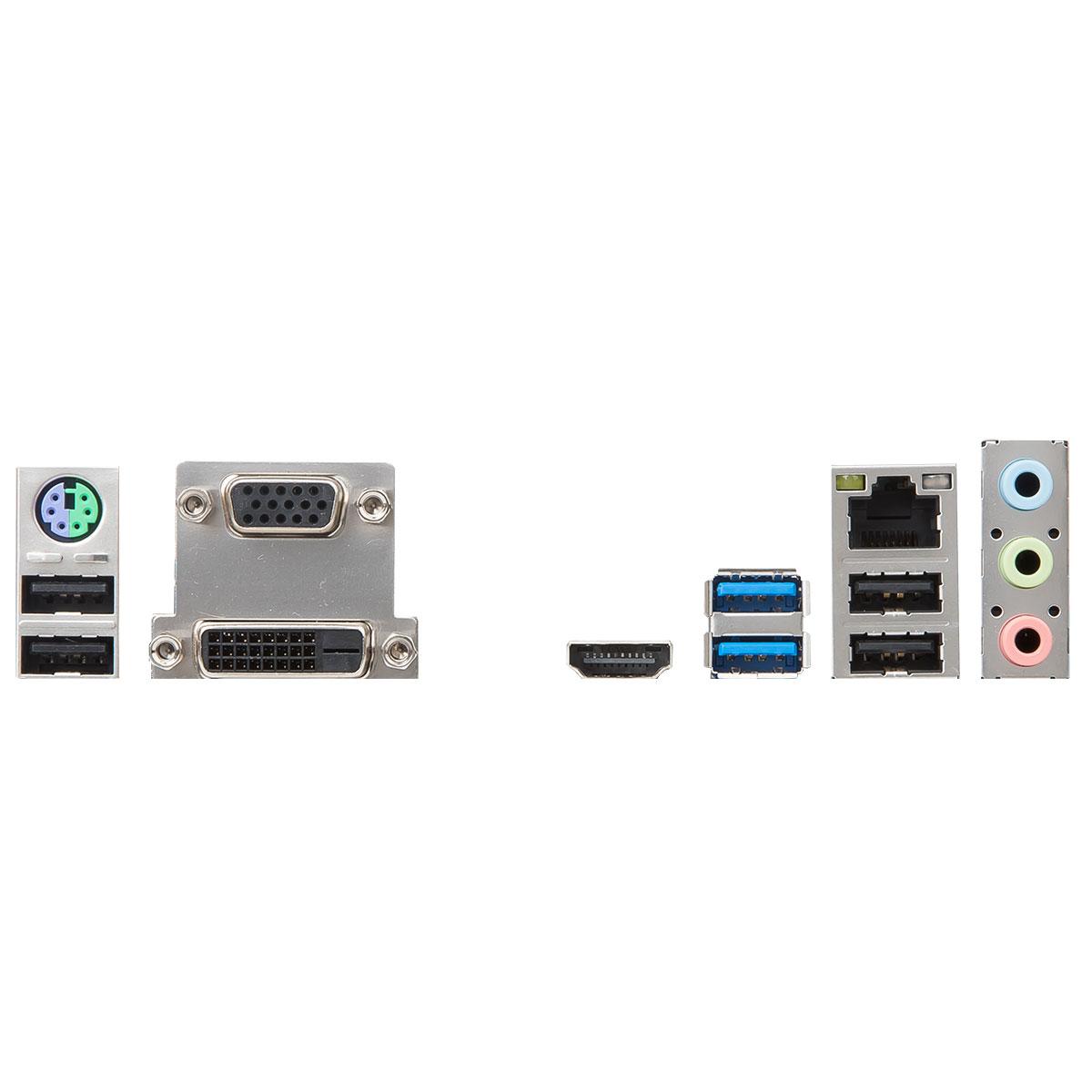 MSI H310M PRO-M2 Micro-ATX DDR4 - Carte mère MSI - Cybertek.fr - 1