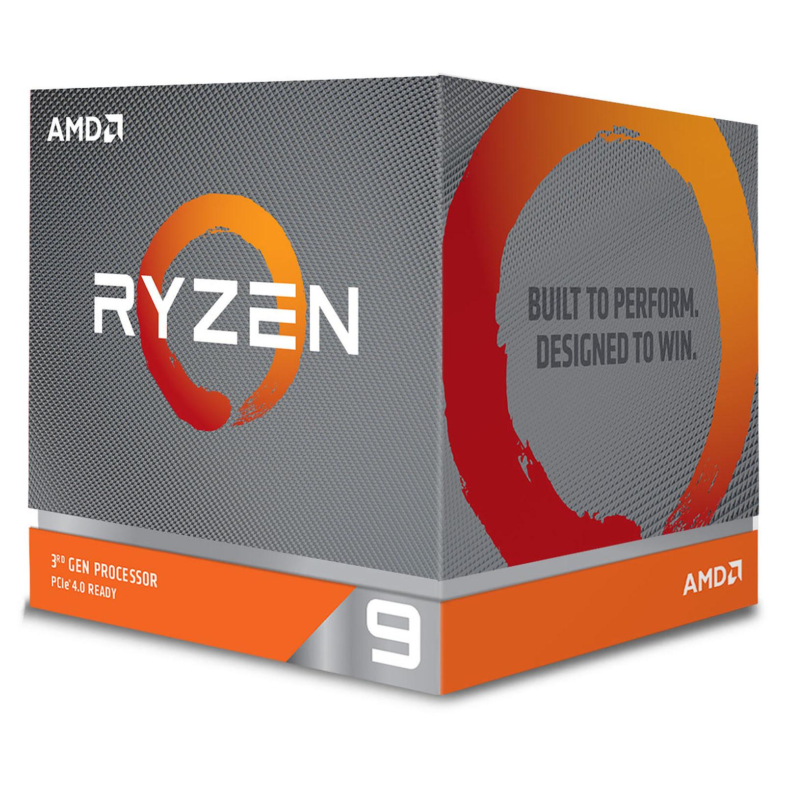 AMD Ryzen 9 3900X - 4.6GHz - Processeur AMD - Cybertek.fr - 0