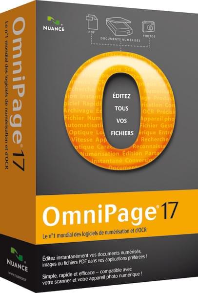 Scansoft OmniPage Standard V.18 (2889F-W00-18.0) - Achat / Vente Logiciel application sur Cybertek.fr - 0