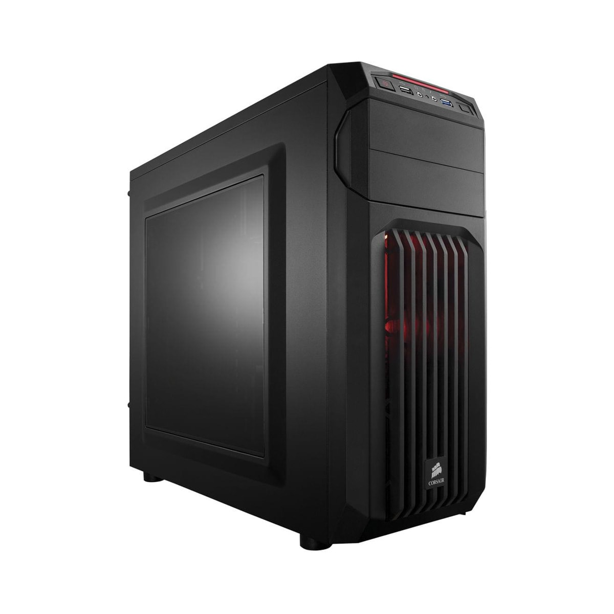 Corsair Carbide SPEC-01 Red LED Windowed (CC-9011050-WW) - Achat / Vente Boîtier PC sur Cybertek.fr - 0