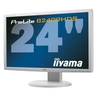 Iiyama PLB2409HDS-W1 (PLB2409HDS-W1) - Achat / Vente Ecran PC sur Cybertek.fr - 0