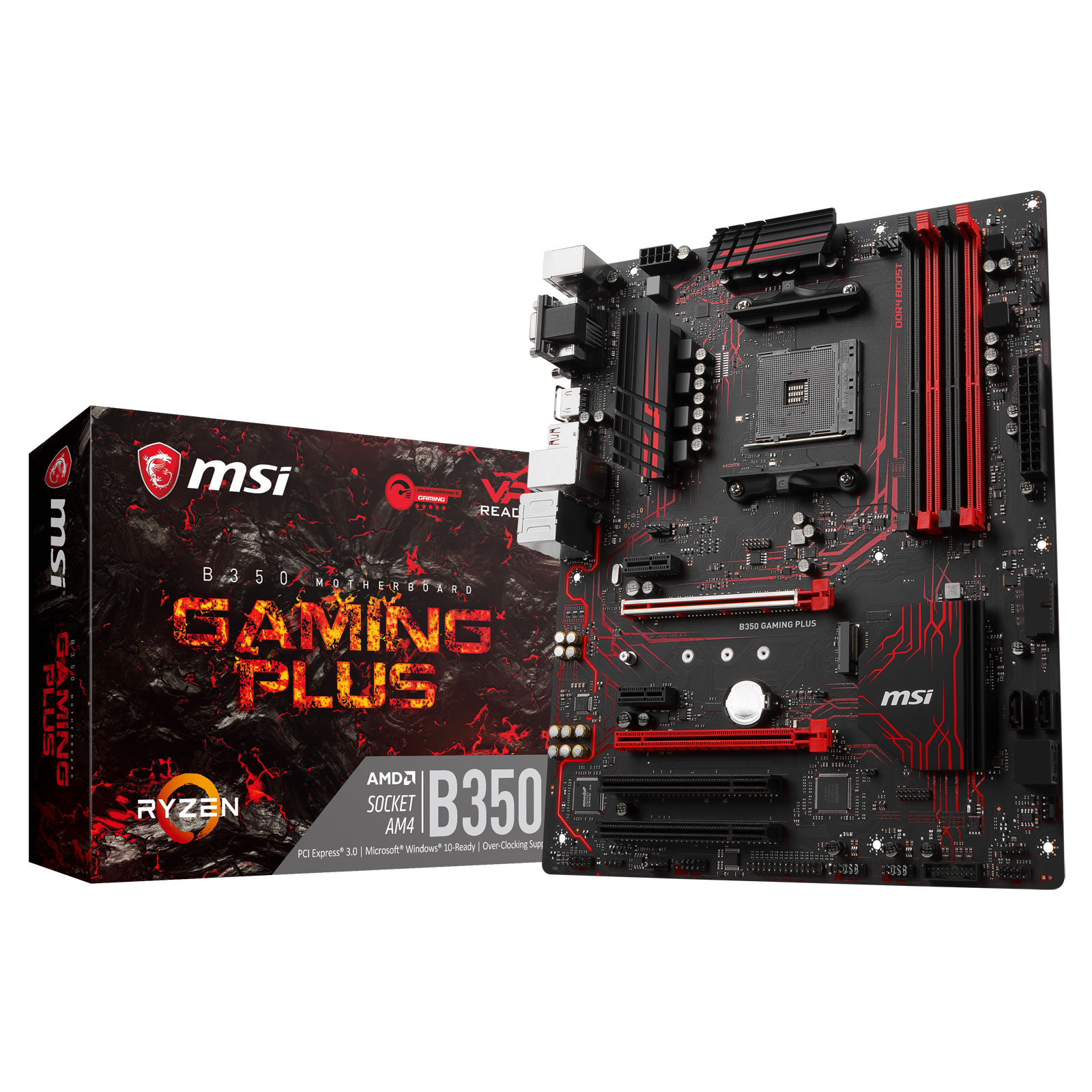MSI B350 GAMING PLUS   - Carte mère MSI - Cybertek.fr - 0