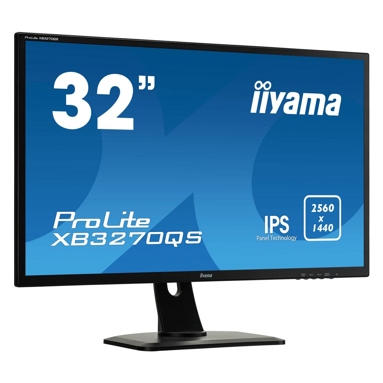 """Iiyama 32""""  XB3270QS-B1 - Ecran PC Iiyama - Cybertek.fr - 4"""