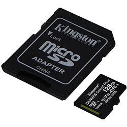 image produit Kingston Micro SDHC 128Go Class 10 + Adapt SDCS2/128GB Cybertek