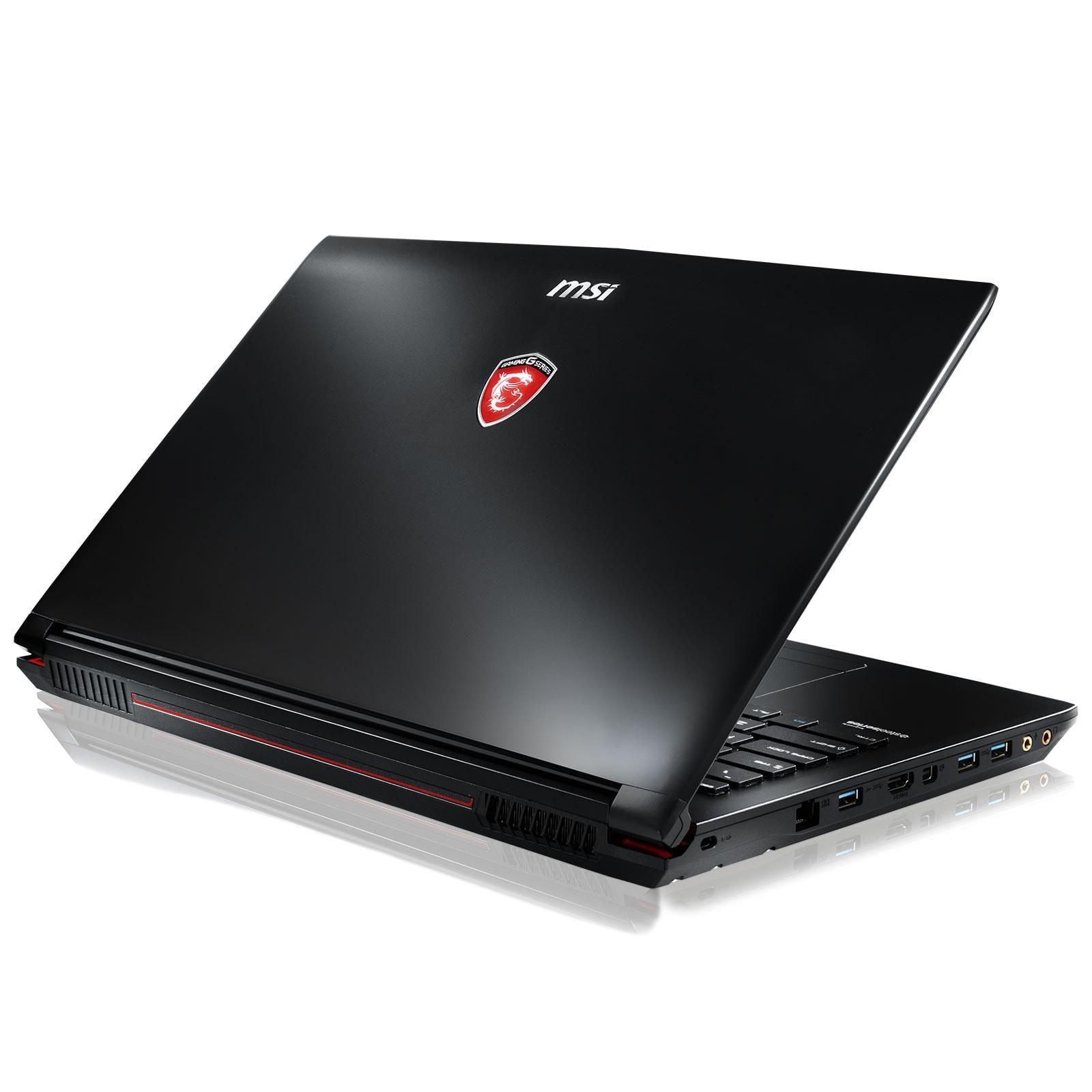 MSI GP62 6QF(LEOPARD PRO)-608FR (9S7-16J522-608) - Achat / Vente PC Portable sur Cybertek.fr - 3