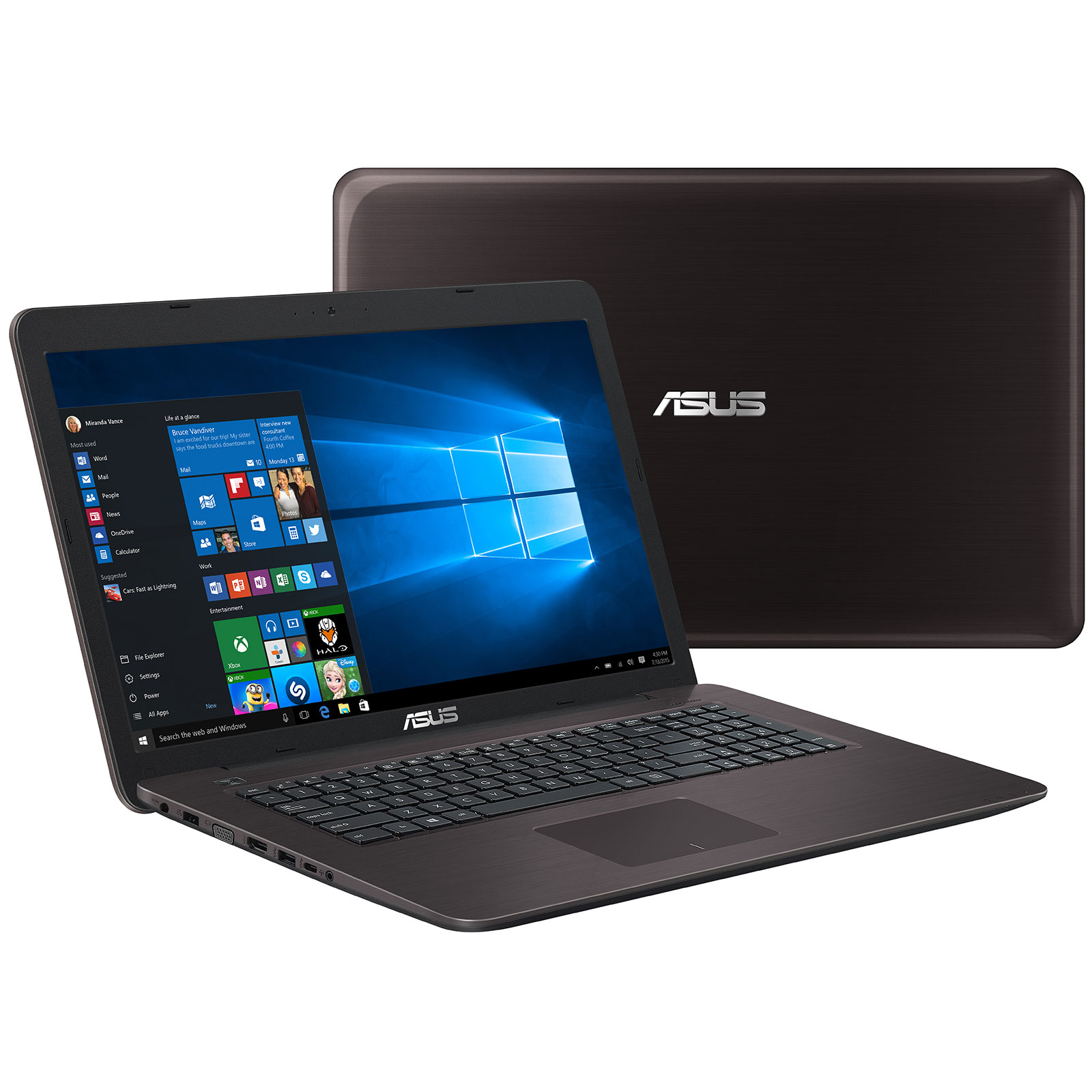 Asus P2740UV-T4328R - PC portable Asus - Cybertek.fr - 0