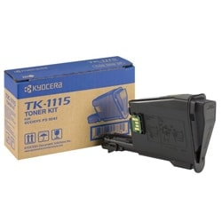 Kyocera Consommable Imprimante Toner Noir 1600p. - TK-1115 Cybertek