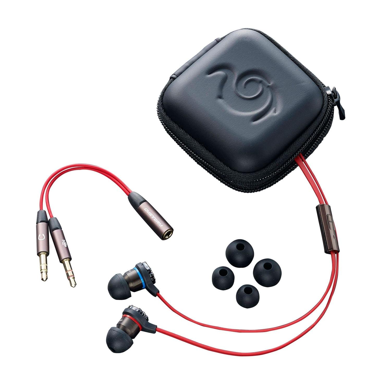 Cooler Master Resonar Stereo Rouge - Micro-casque - Cybertek.fr - 0