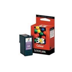 Lexmark Consommable Imprimante Cartouche Couleur N°33 - 18CX033E Cybertek