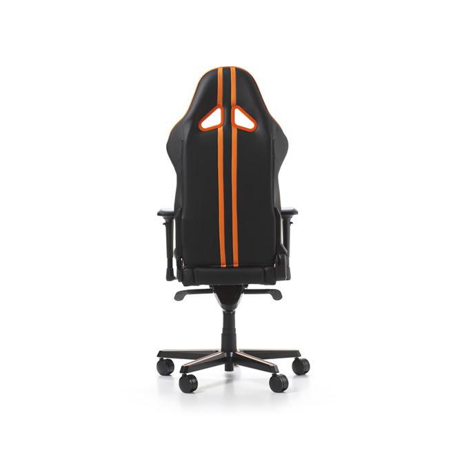 DXRacer Racing Pro R131-NO Noir/Orange - Siège PC Gamer - 1
