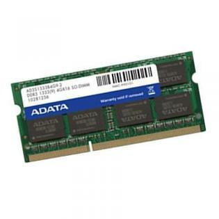 ADATA SO-DIMM 2Go DDR3 FSB1333 AD3S1333C2G9-S - Mémoire PC portable - 0