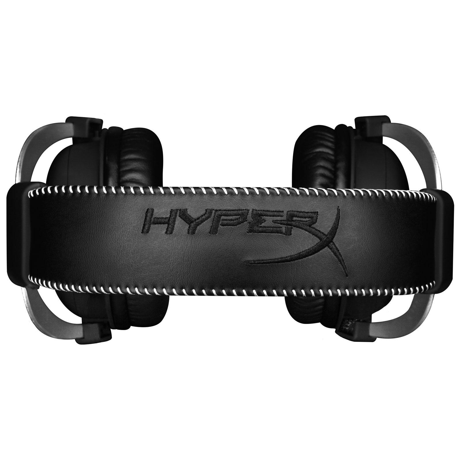 HyperX CloudX Gaming Headset (Silver) (HX-HSCX-SR/EM) - Achat / Vente Micro-casque sur Cybertek.fr - 3