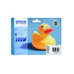Epson Multipack 4 couleurs série T0556 (C13T05564010) - Achat / Vente Consommable Imprimante sur Cybertek.fr - 0