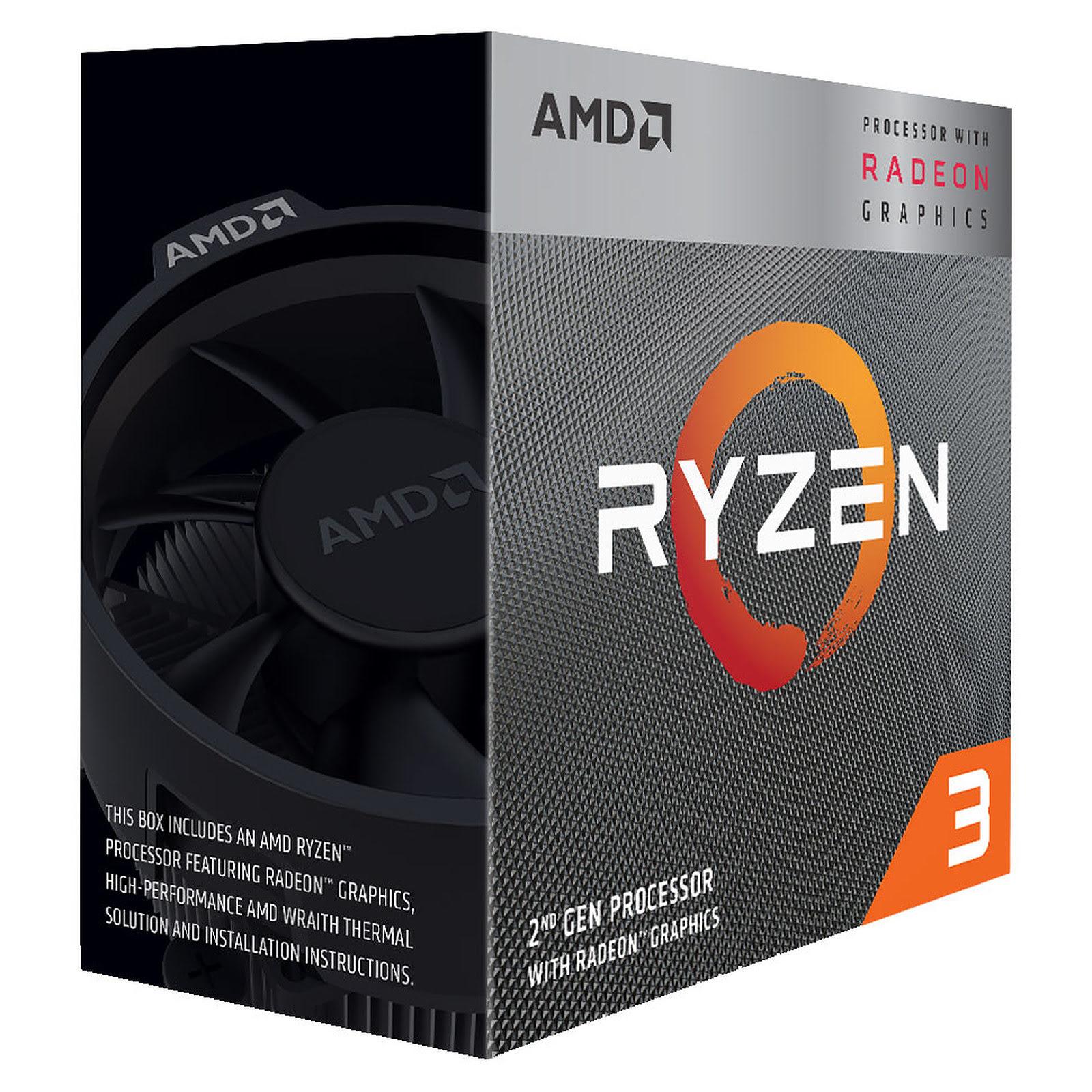 AMD Ryzen 3 3200G (YD3200C5FHBOX) - Achat / Vente Processeur sur Cybertek.fr - 2