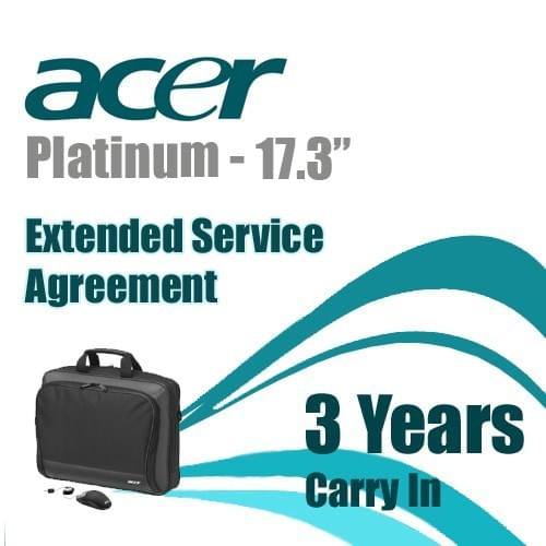 Platinum Traveler 17.3 Extension3A Accident+Sac+Souris - Acer - 0
