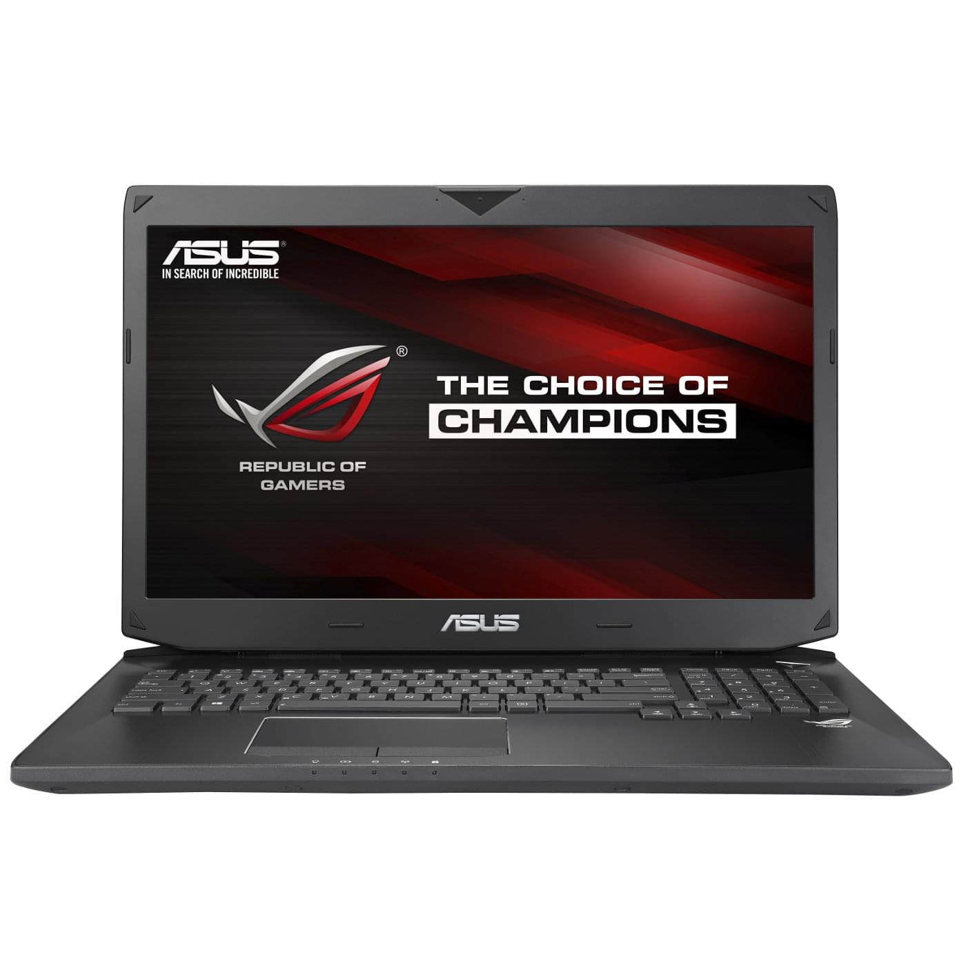 "Asus G750JZ-T4146H -i7-4860/16G/256G+1To/GTX880/17.3""/8 (G750JZ-T4146H) - Achat / Vente PC Portable sur Cybertek.fr - 0"