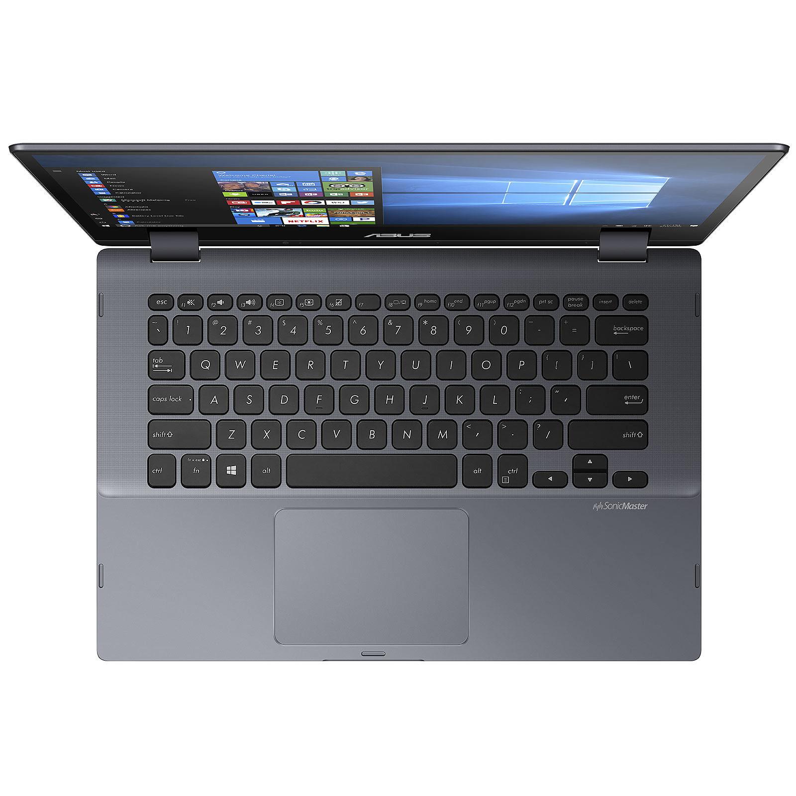 Asus VivoBook Flip TP412UA-EC244R (90NB0J71-M08150) - Achat / Vente PC portable sur Cybertek.fr - 2