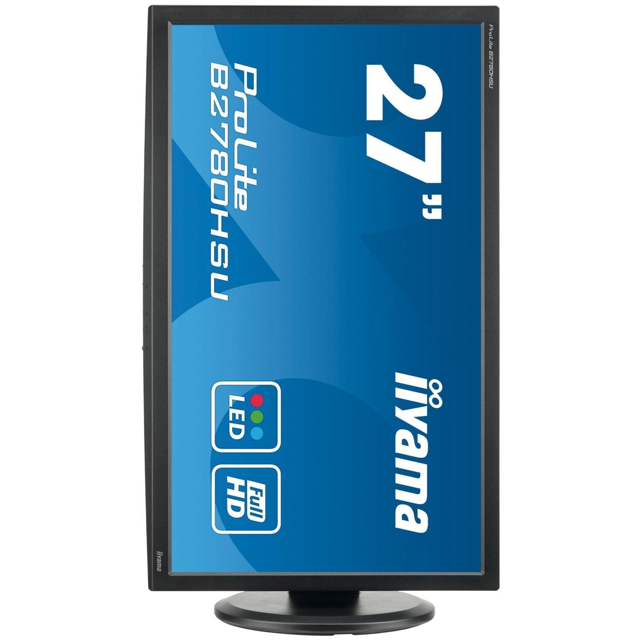 Iiyama B2780HSU-B1 (B2780HSU-B1) - Achat / Vente Ecran PC sur Cybertek.fr - 3