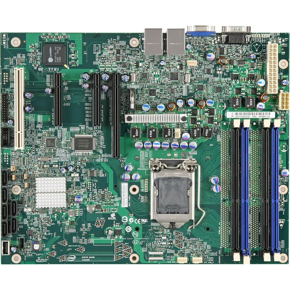 Intel S3420GPV (S3420GPV) - Achat / Vente Carte Mère sur Cybertek.fr - 0