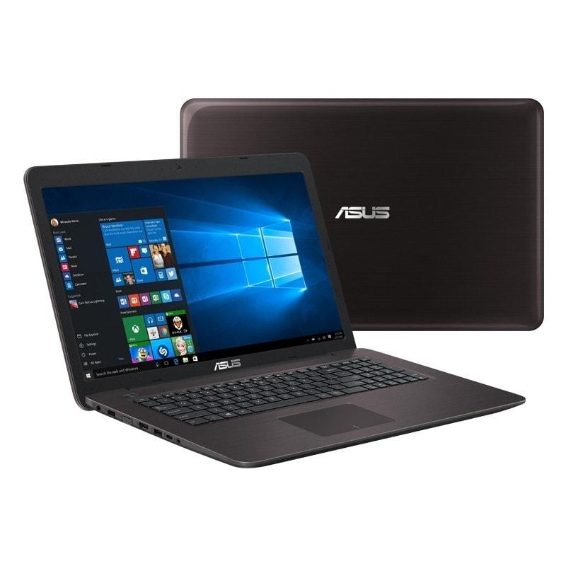 Asus X756UV-TY028T Marron (90NB0C71-M00280 --) - Achat / Vente PC Portable sur Cybertek.fr - 0