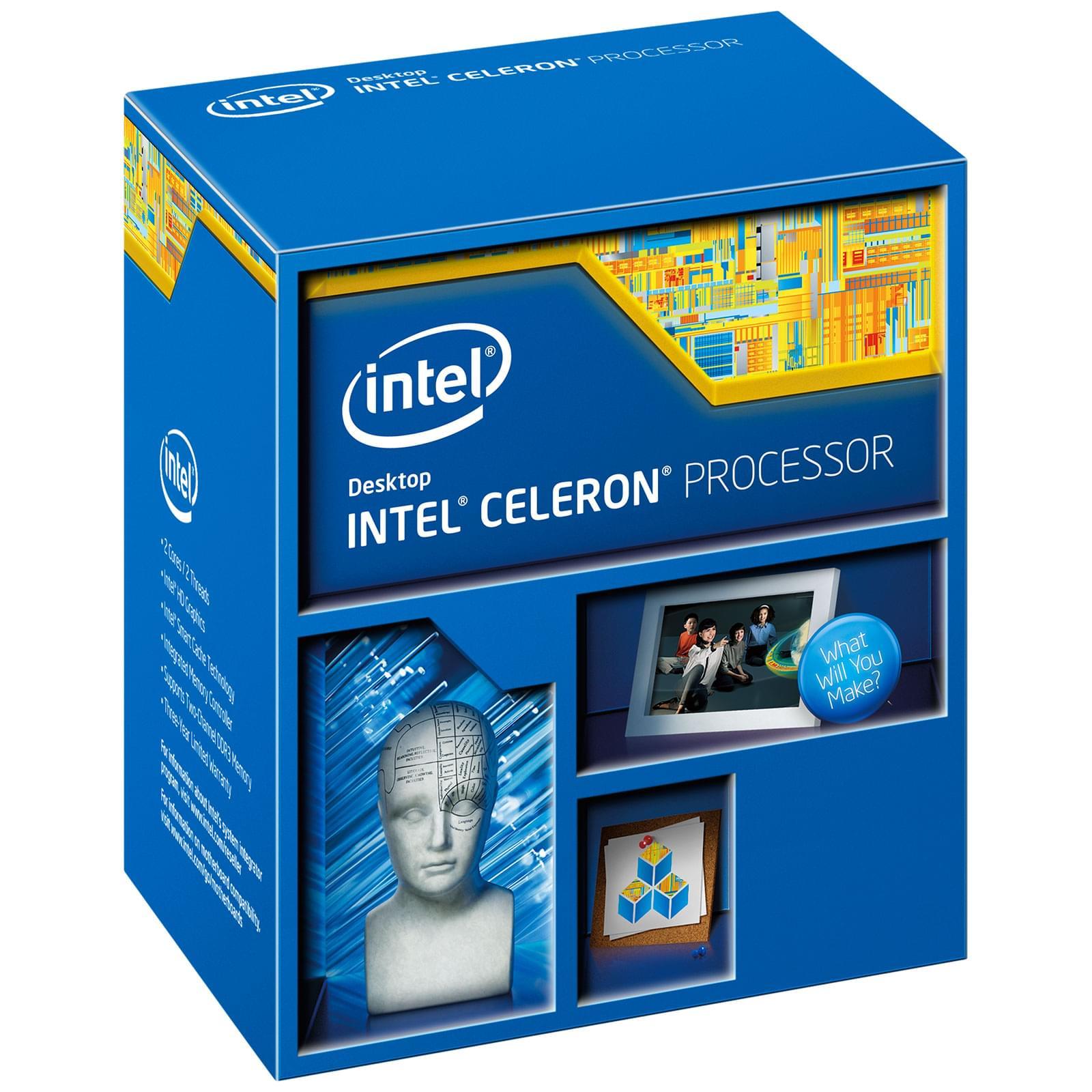 Intel Celeron G1820 (BX80646G1820) - Achat / Vente Processeur sur Cybertek.fr - 0