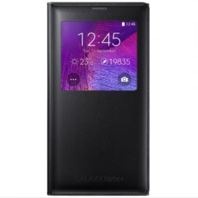 Etui et Coque S View Cover Galaxy Note 4 Noir EF-CN910F - Accessoire téléphonie Samsung - 0
