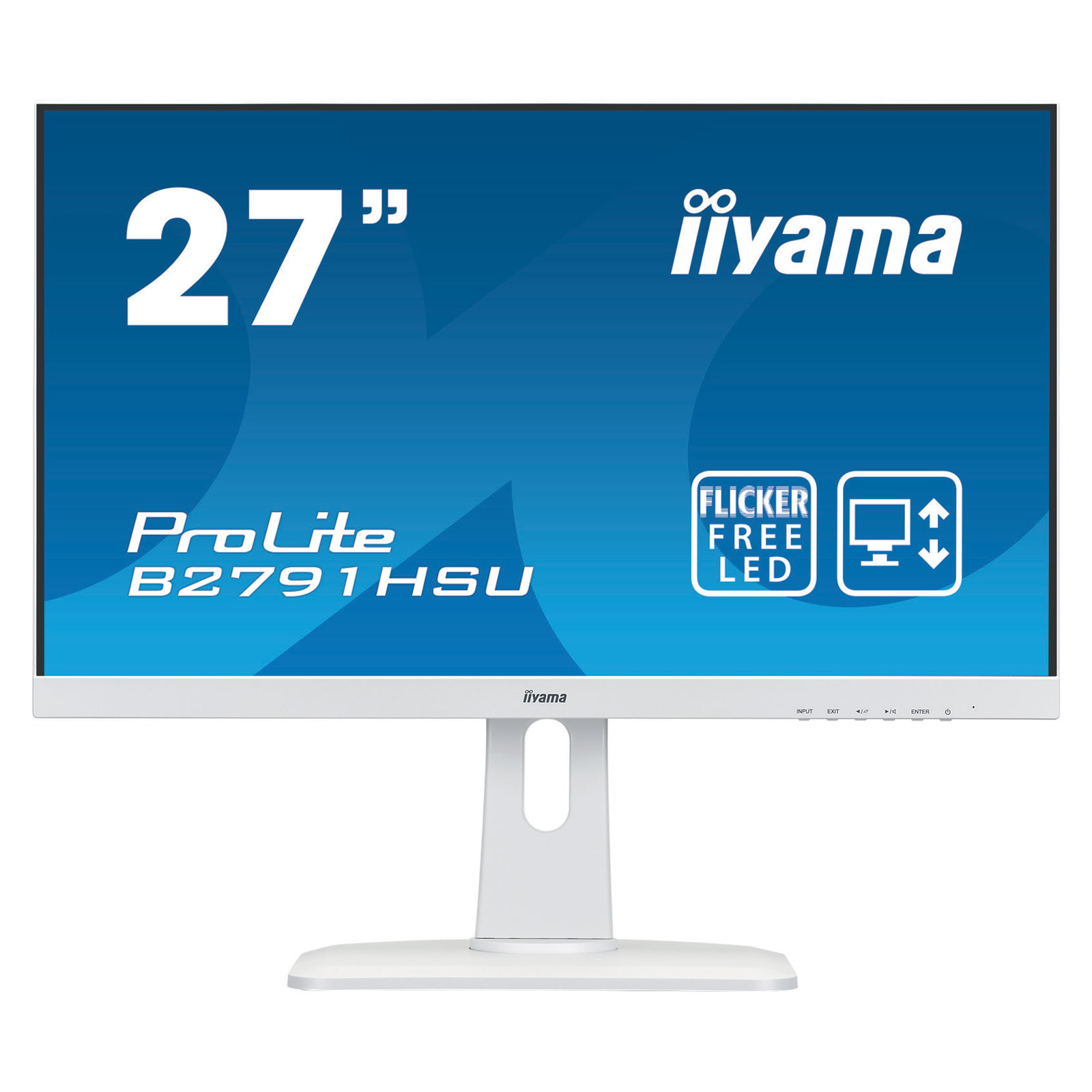 "Iiyama 27""  B2791HSU-W1 - Ecran PC Iiyama - Cybertek.fr - 4"