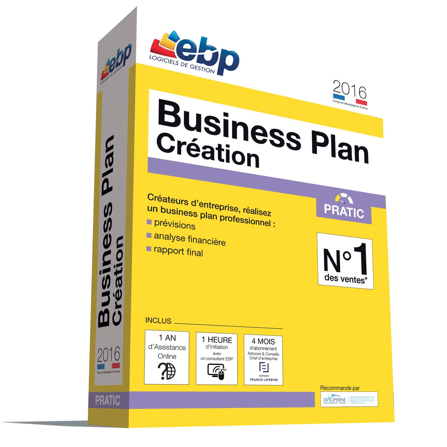 EBP Business Plan Pratic 2016 + VIP - Logiciel application - 0