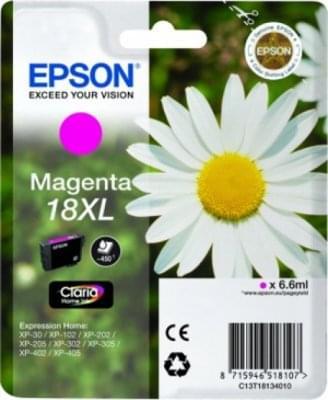 Cartouche T1813 XL Magenta pour imprimante Jet d'encre Epson - 0