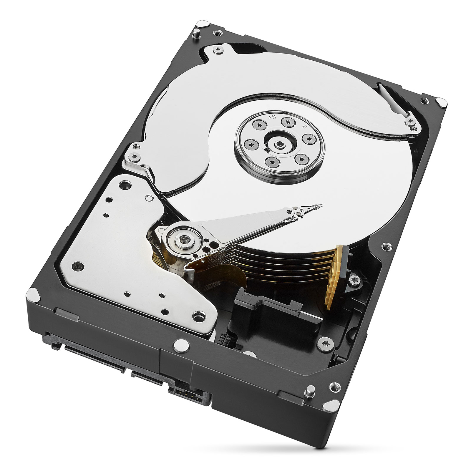 "Seagate 8To SATA III 256Mo IronWolf PRO ST8000NE0021 - Disque dur interne 3.5"" - 1"
