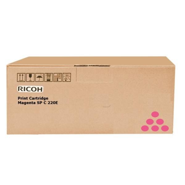 Ricoh Toner Magenta 1600p SPC250 (407545) - Achat / Vente Consommable Imprimante sur Cybertek.fr - 0