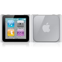 Apple iPod nano 8Go Silver (MC525ZD/A soldé soldé) - Achat / Vente Serveur NAS sur Cybertek.fr - 0
