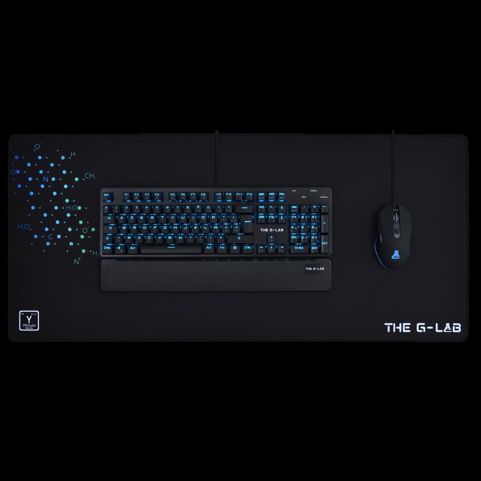 The G-LAB - Gaming Mouse Pad XXL 900x400mm - Tapis de souris - 1