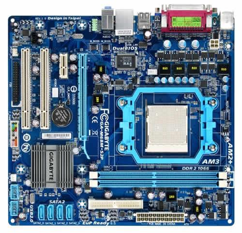 Gigabyte M68M-S2P (M68M-S2P) - Achat / Vente Carte Mère sur Cybertek.fr - 0