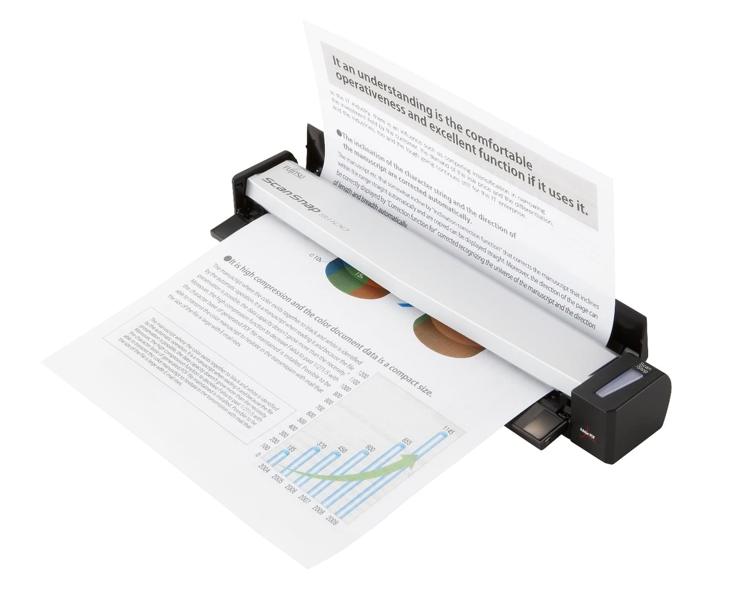 Fujitsu ScanSnap S1100 (PA03610-B001) - Achat / Vente Scanner sur Cybertek.fr - 0