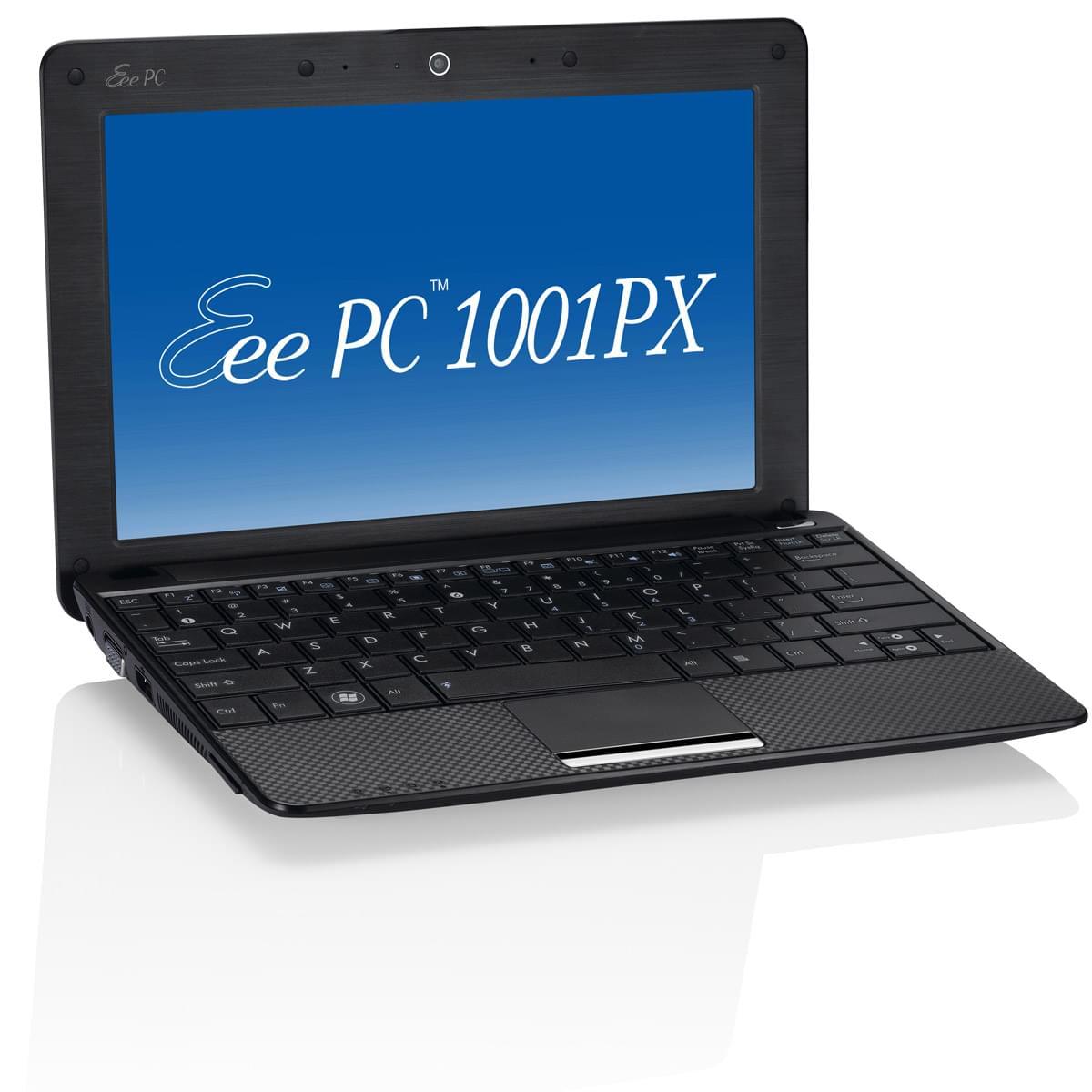 Asus 1001PX-BLK004S Noir (1001PX-BLK004S) - Achat / Vente PC Portable sur Cybertek.fr - 0