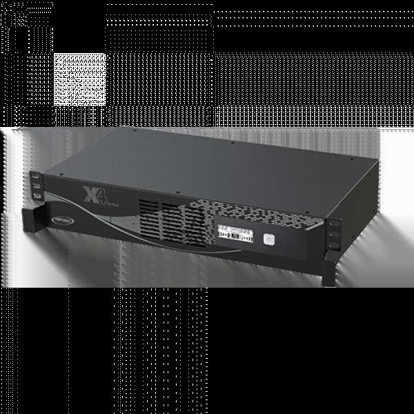 X4 1000 RM Plus - In-Line/Prises IEC/FR - Onduleur Infosec - 0