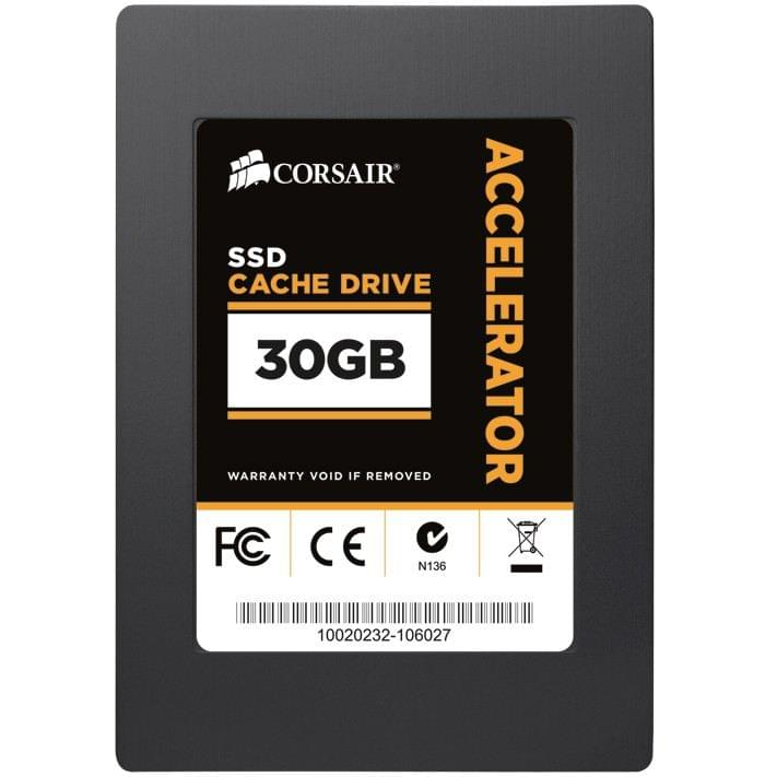 Corsair 30Go SSD Accelerator CSSD-C30GB SATA II 30Go - Disque SSD - 0
