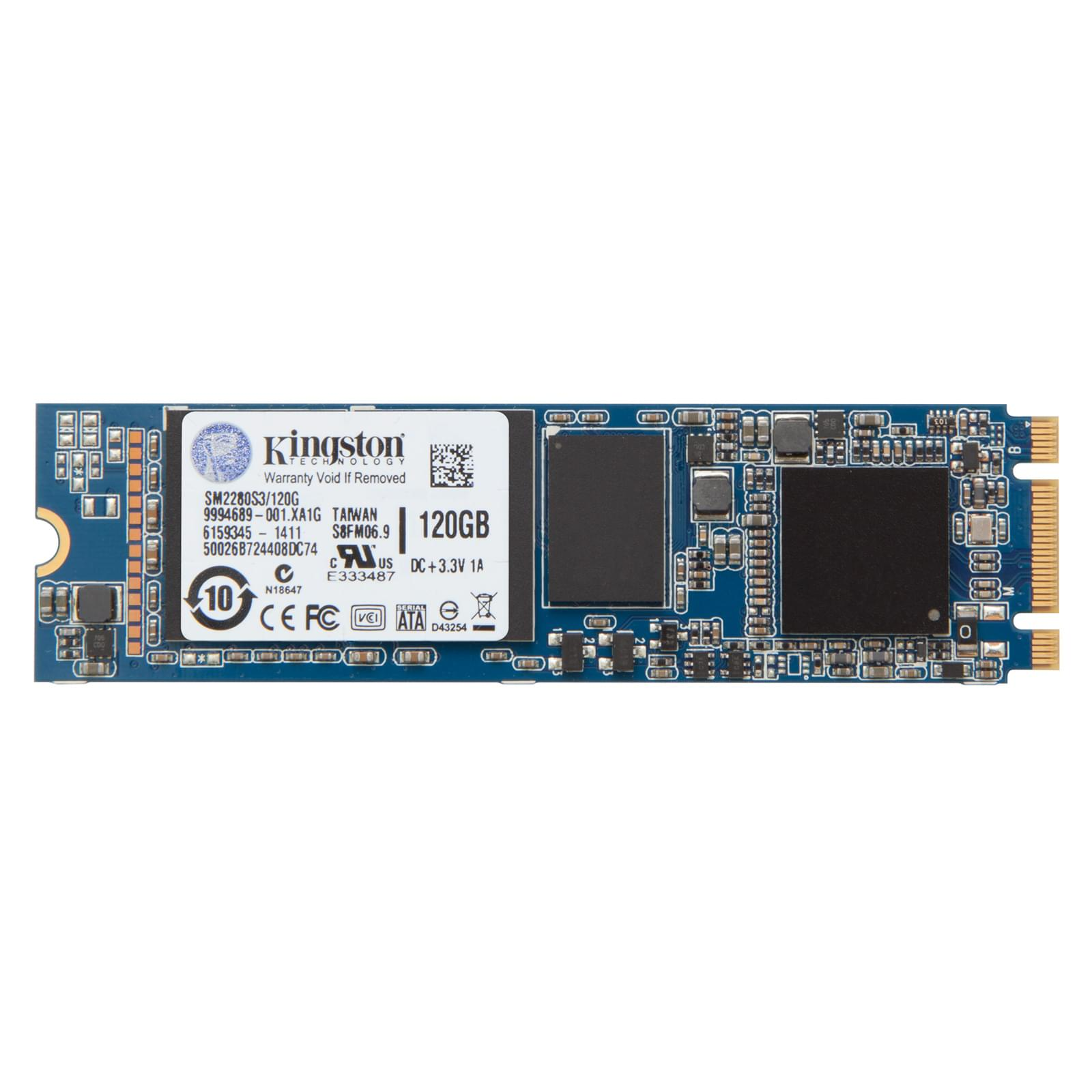 Kingston 120Go SSD M.2 SM2280S3/120G 120-128Go - Disque SSD - 0