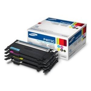 Pack Toner Rainbow Noir,J,C,M - CLT-P4072C pour imprimante Laser Samsung - 0