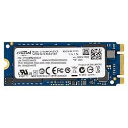 Crucial Disque SSD 500Go M.2 2260DS MX200 - CT500MX200SSD6 Cybertek