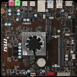 image produit MSI J1800TI - Celeron J1800/SO-DDR3/ITX/Bulk Cybertek