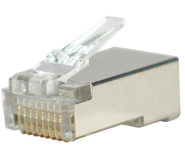 No Name Connecteurs RJ45 Blindés (sachet de 10) (920850) - Achat / Vente Connectique Réseau sur Cybertek.fr - 0