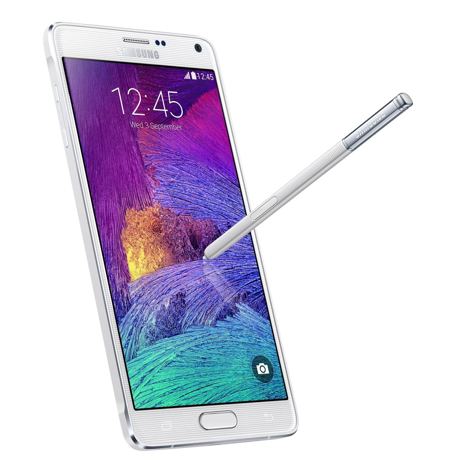 Samsung Galaxy Note 4 N910F 32Go White (SM-N910FZWEXEF) - Achat / Vente Téléphonie sur Cybertek.fr - 1