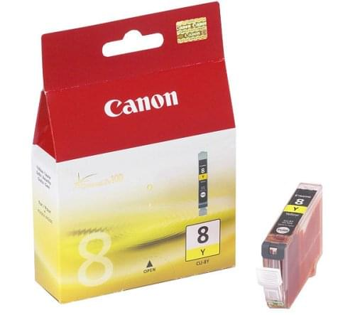 Cartouche CLI-8Y - 0623B001 pour imprimante Jet d'encre Canon - 0