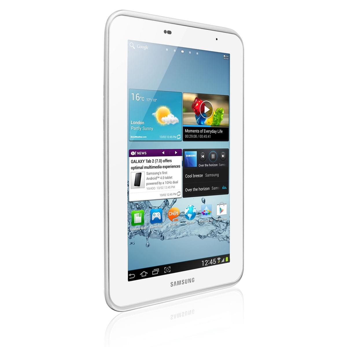 Samsung Galaxy Tab 2 P3110ZWAXEF - Tablette tactile Samsung - 0
