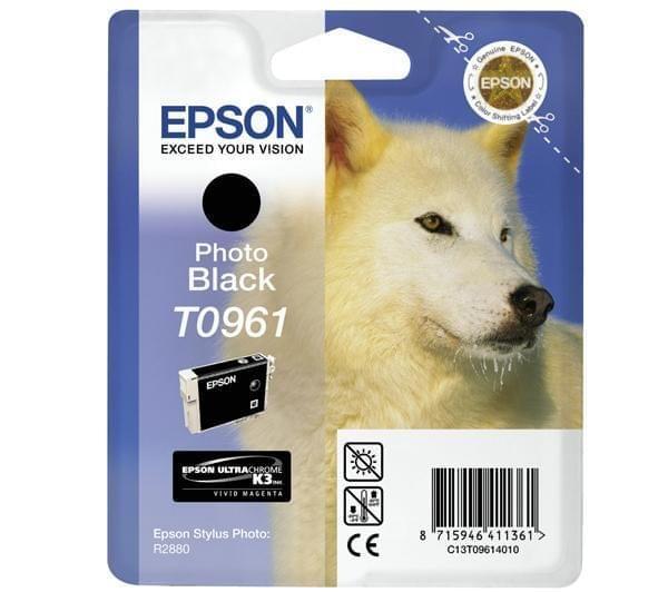 Epson Cartouche d'encre photo Noir T0961 (C13T09614010) - Achat / Vente Consommable Imprimante sur Cybertek.fr - 0