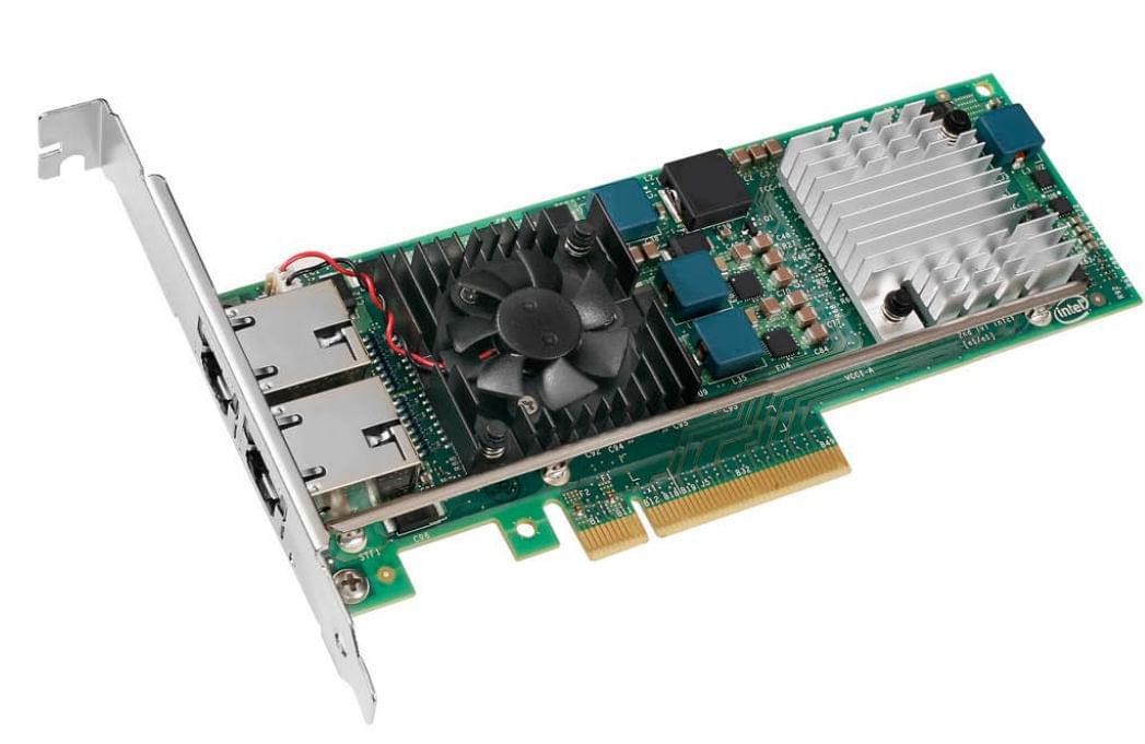 Intel PCI-E 10/100/1000MB Dual Port (E10G42BT) - Achat / Vente Carte Réseau sur Cybertek.fr - 0